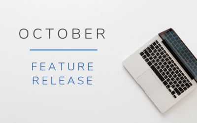 October Feature Release