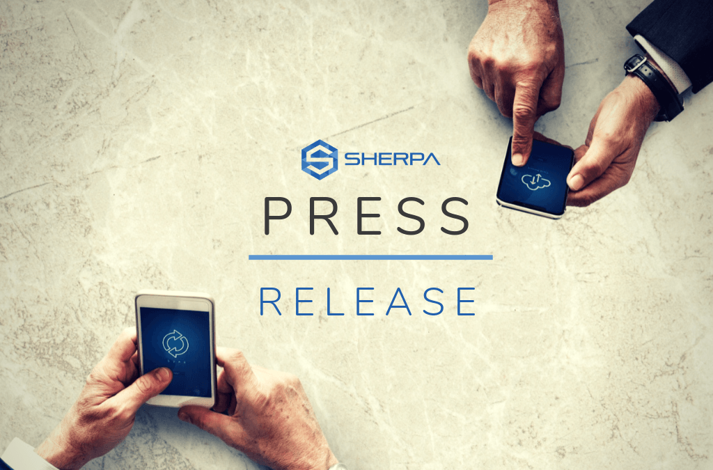 Sherpa closes $700,000 seed round financing and receives certificate of eligibility for STSI program