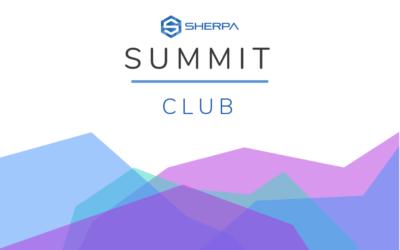 Sherpa Summit Club is live!