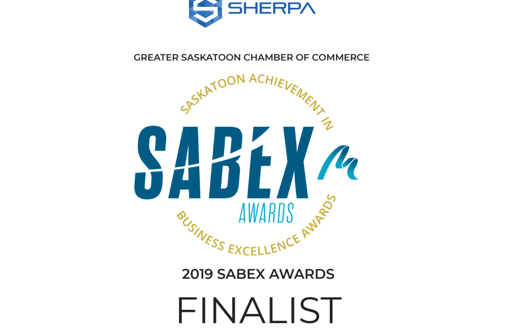 Sherpa selected as a finalist for 2019 SABEX Award
