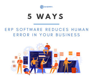 5 ways ERP software reduces human errors in your business